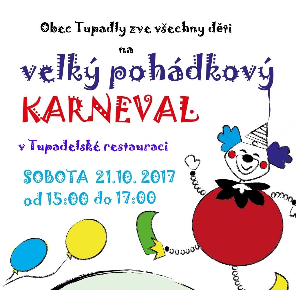 Pozvánka na pohádkový karneval